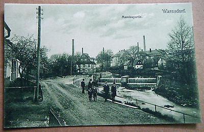 alte AK Warnsdorf Mandaupartie Varnsdorf Strache Böhmen Nordböhmen 1913