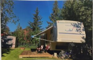Sold! Greenwater Lot and Camper