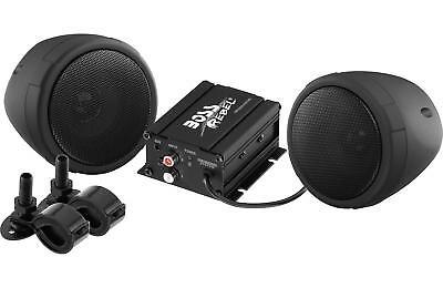 Boss Audio 600w Bluetooth Speakers+Amplifier Handlebar System Motorcycle/ATV/UTV