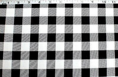 BTY* NEW*BLACK & WHITE BUFFALO CHECK 3/4
