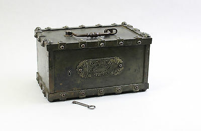 Bauche á Gueux Marne Kugel- Tresor um 1860 - Geldkassette - Kriegskasse