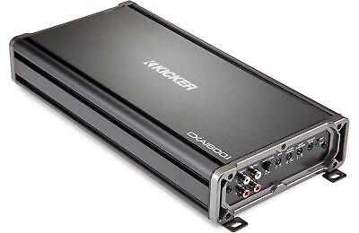 Kicker 43CXA18001 Car Mono Amp 3600-Watt Class D CXA1800.1 Monoblock Amplifier