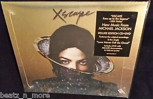 MICHAEL-JACKSON-XSCAPE-DELUXE-EDITION-2014-BRAND-NEW-SEALED-CD-DVD-POSTER