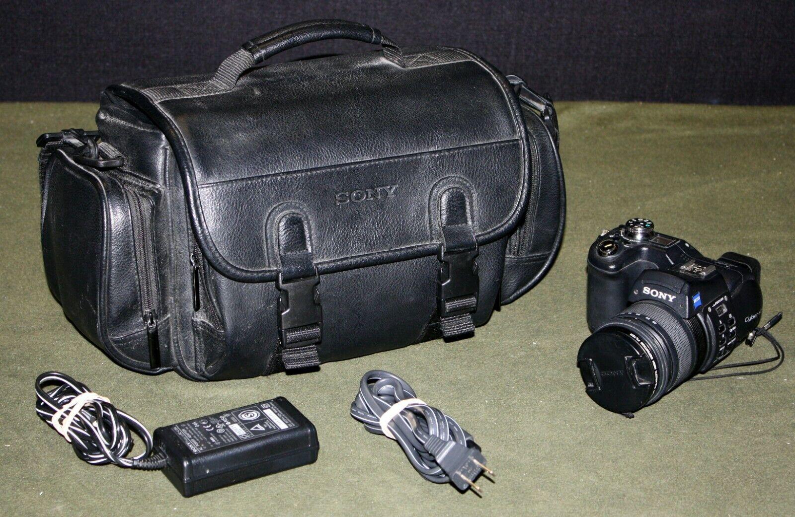 Sony Cyber-Shot DSC-F828 8.0MP Digital Camera - Black - $99.95