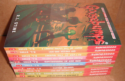 Goosebumps Horrorland Series 10 Books Collection Set by R.L.Stine