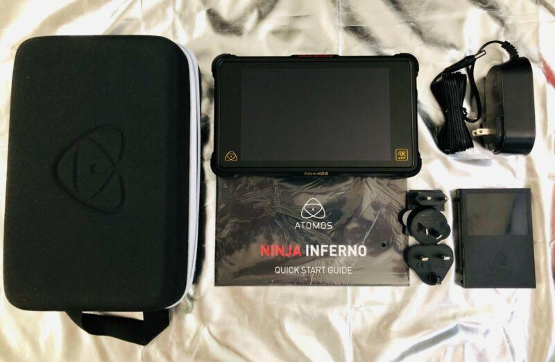 """ATOMOS NINJA INFERNO 7"""" 4K HDMI MONITOR & RECORDER (MINT*)"""