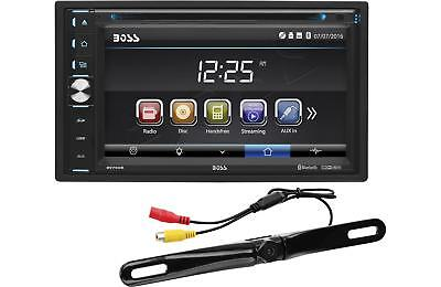 Boss BV765BLC 6.5 2 Din Car Touchscreen DVD USB Bluetooth Receiver Backup Camera