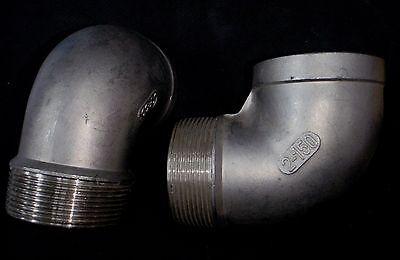 Stainless Steel Street 90 Elbow 2 Npt Pipe Se-200