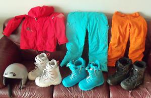 SKI/SNOWBOARD Children's outerwear & helmuts K2 MARMOT