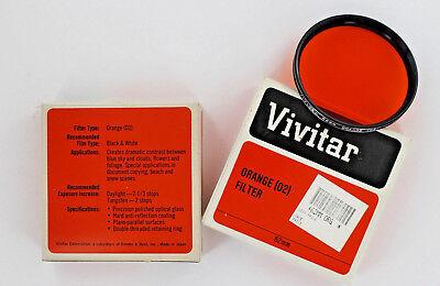 Vivitar 62mm Orange (02) Filter