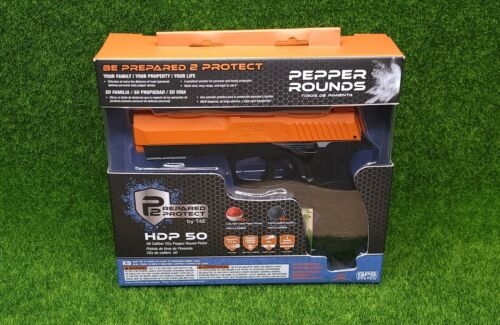 Umarex P2P T4E HDP50 CO2 Special Ball Air Pistol, Black/Orange - 2292131