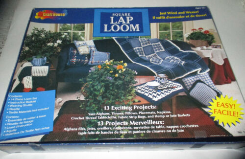 Craft House Square Lap Loom Complete in Box Preowned