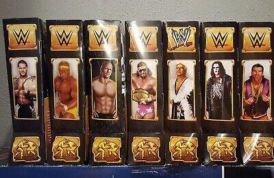WWE DEFINING MOMENTS ELITE LOT of 7 Steve Chris Flair Ramon Hogan Sting Macho