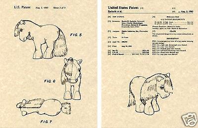 Nous Verni pour My Little Pony 1983 Hasbro Jouet Art Print Prêt à Encadrer