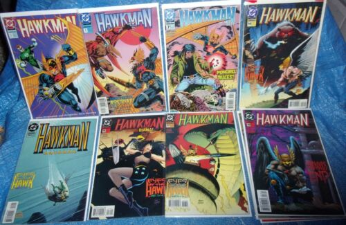 DC Comics Hawkman 1993 series 11 Issue Lot 2 3 7 14 15 16 17 18 21 24 28 Lantern