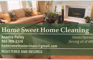 Home Sweet Home Cleaning -  Registered & Insured