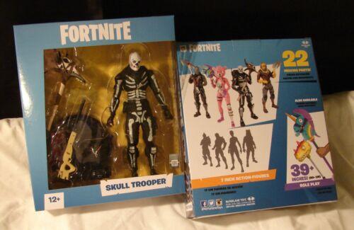 "McFarlane Toys FORTNITE EPIC games SKULL TROOPER 7"" Action figure MIP!"
