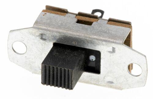 Lot of 25 CW GF-323-0000 SPST Standard Slide Switch 3A/125VAC .5A/125VDC, NOS