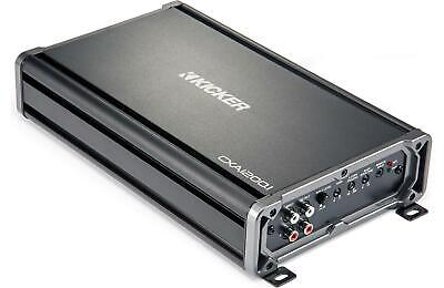 Kicker 43CXA12001 Car Mono Amp 2400-Watt Class D 43CXA1200.1 Monoblock Amplifier