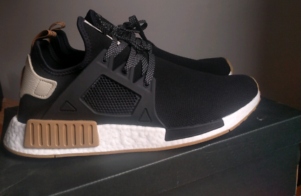 Adidas NMD_XR1 US12 Black/Brown Brand New