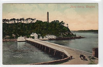 FERRY CARRIG, WEXFORD: Co Wexford Ireland postcard (C12442)