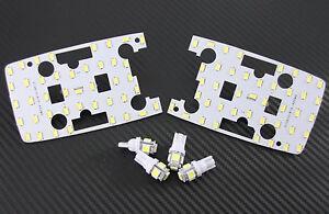Toyota Landcruiser 100 Series GXL LED Interior Light Kit +Exact fit Panel Lights