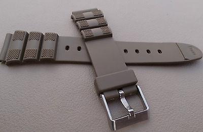 serfest Sport 18mm Armeegrün Khaki Uhrenarmband Passt Led (Armee Passt)