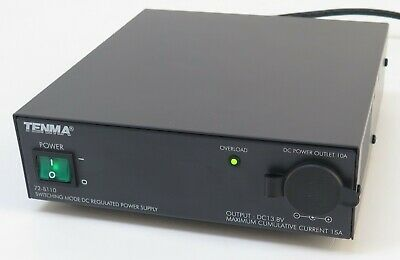Tenma 72-8110 Switching Mode Dc Regulated Power Supply