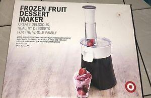 Frozen Fruit Dessert  Maker Bedford Bayswater Area Preview