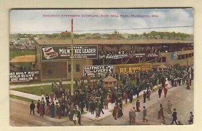 Baseball Stadium Borchert Field Milwaukee, Wisconsin WI Minor League c.1910