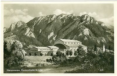 Oberammergau, Passionstheater mit Laber, um 1930/40