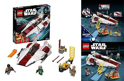 LEGO Star Wars 75175 A-Wing Starfighter, Classic Star Wars Saga -Great Xmas Gift