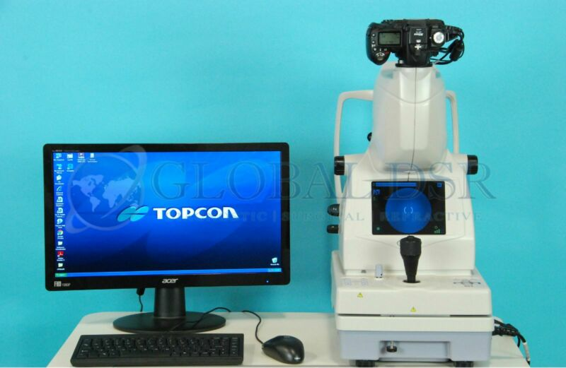 Topcon TRC-NW8 Non-Mydriatic Digital Imaging Fundus Camera w/ ImageNet