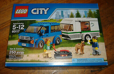 LEGO 60117 VAN & CARAVAN CITY SEALED NEW