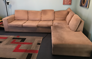 Sofa bed and chaise lounge. Blacktown Blacktown Area Preview
