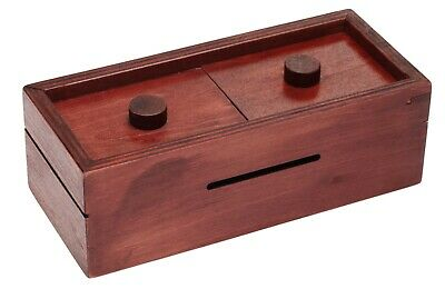 MYSTERIOUS 5 STEP PUZZLE GIFT BOX -  gift card holder - cash - tickets - lottery