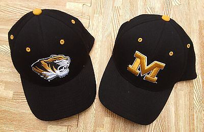 Used, Missouri Tigers Mizzou Zephyr Hat Set of 2 ~ Men's M / L ~ Black NCAA Football for sale  Shipping to Canada