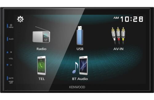 "Kenwood DMX125BT 2-DIN 6.8"" Touchscreen Car Stereo Digital Multimedia Receiver"