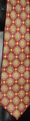 1960s – 70s Men's Ties | Skinny Ties, Slim Ties Vintage1960s JORDAN MARSH geometric silk Necktie TIE $15.99 AT vintagedancer.com
