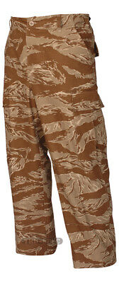 Tru-Spec Desert Tiger Stripe BDU Pants 100% Cotton RS Desert Bdu Tiger Stripe