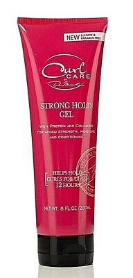 Curl Care by dr. Miracle strong hold gel Hair Styling Wet Gel Hair Care  8 oz for sale  Shipping to India