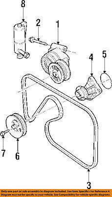 Cadillac GM OEM 97-01 Catera 3.0L-V6 WATER PUMP-Auxiliary Pump 10438993