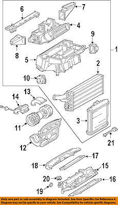 MERCEDES OEM 94-02 SL500 5.0L-V8 Evaporator Heater-Water Deflector 1298300628