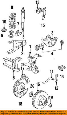 FORD OEM-Rear Wheel Bearing DOAZ1217B