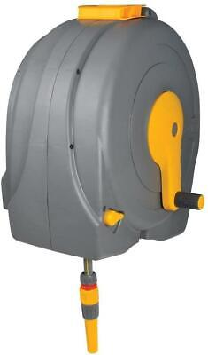 Hozelock - Wall Mounted - Fast Reel with 40m + 2m premium hose