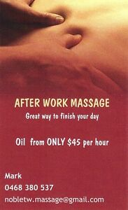 After Work Massage Keysborough Greater Dandenong Preview