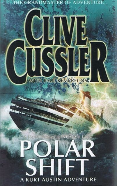 POLAR SHIFT (NUMA Files #6) by Clive Cussler (Paperback, 2007) FREE POST