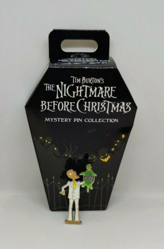 Melting Guy Nightmare Before Christmas NBC Mystery Box Disney Pin