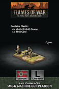 FALLSCHIRMJAGER sMG42 HMG PLATOON - FLAMES OF WAR - GE770 - SHIPPING NOW
