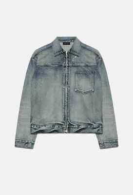 John Elliott Denim Zip Blouson Gobi Jacket 2 Medium